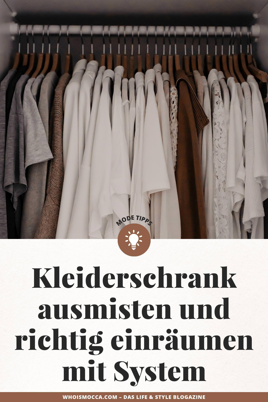 Kleiderschrank Ausmisten Und Richtig Einraumen Mit System Enthalt Unbeauftragte Werbung Kleiderschrank Ausmisten Kleiderschrank Platzsparend Kleiderschrank