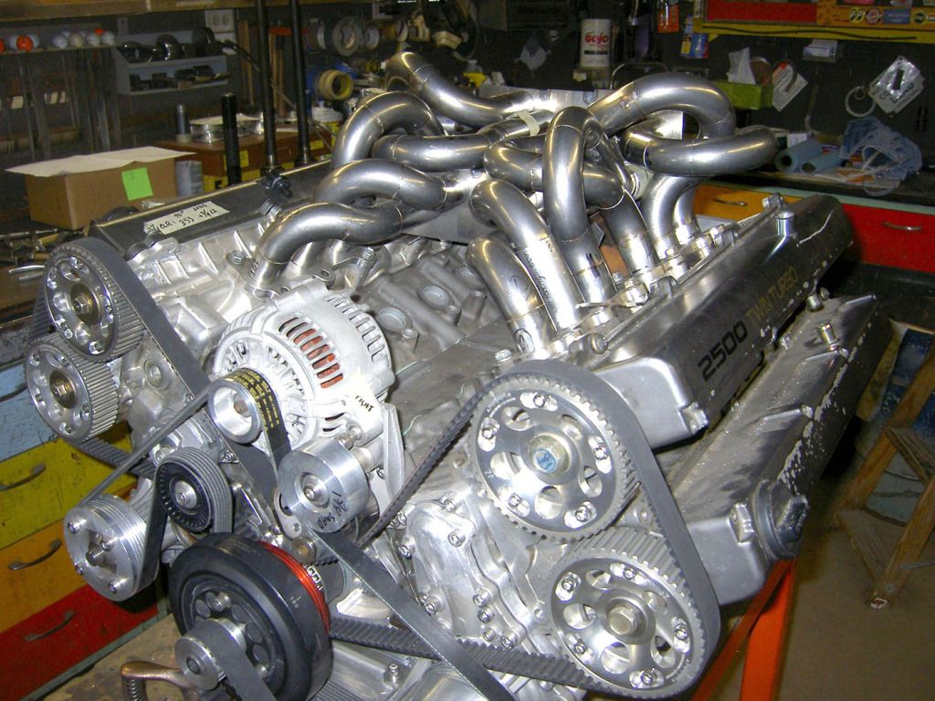 V12 engine being made from two Toyota 1JZ inlinesix engines