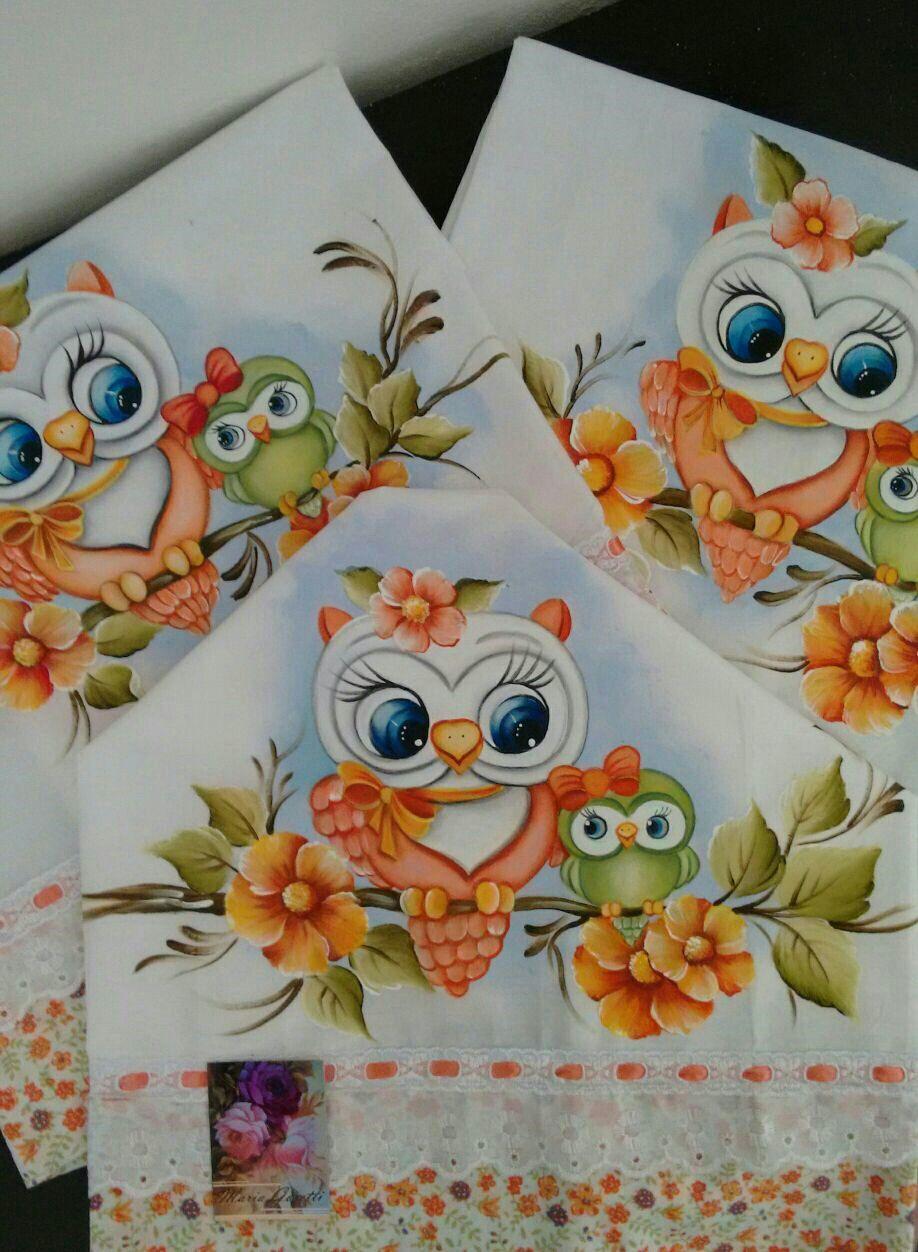 Jogos de corujas pintura en tela pinterest owl - Decorarte pinturas ...