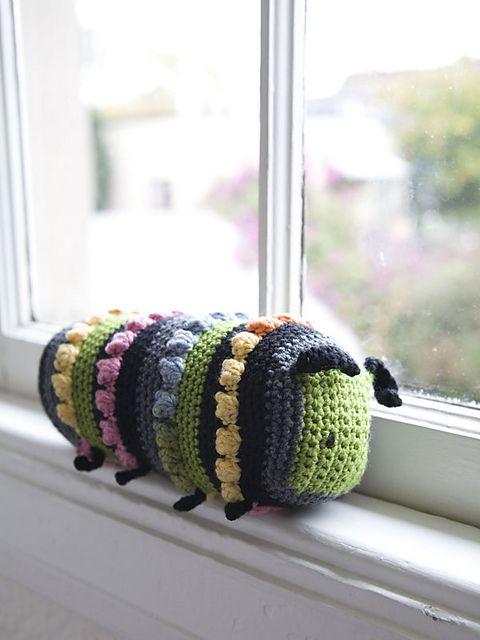 Ravelry: Limona Caterpillar pattern by Amanda Keep | crochet | Pinterest