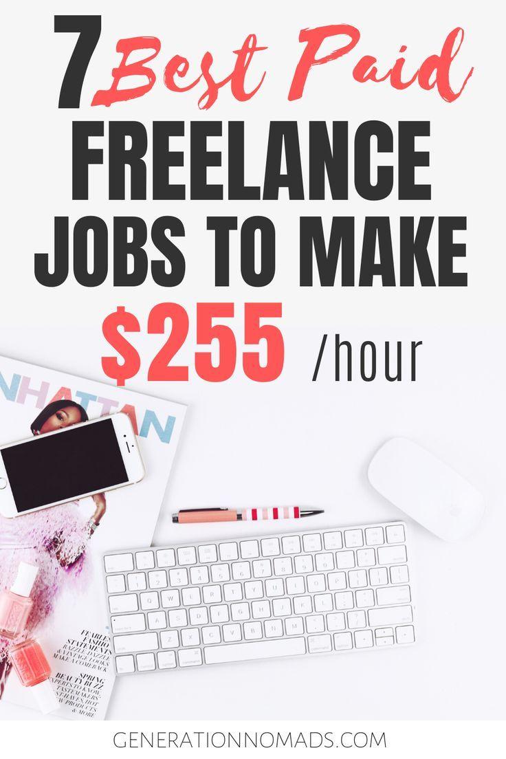 7 Highest Paying Jobs For Freelancers Freelance jobs