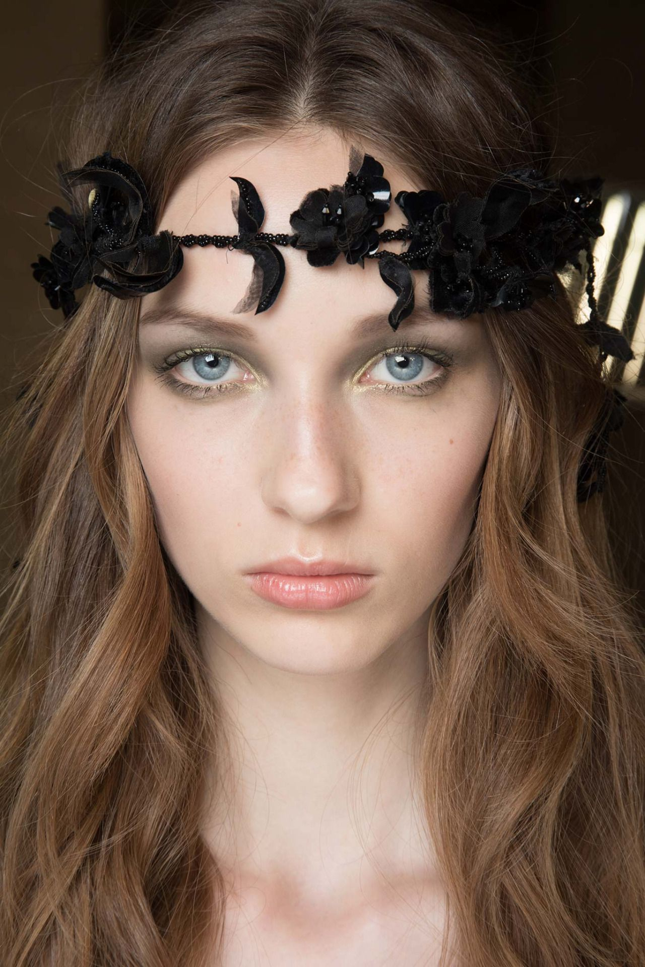 Atelier Versace Couture Hair and Makeup - Backstage Beauty