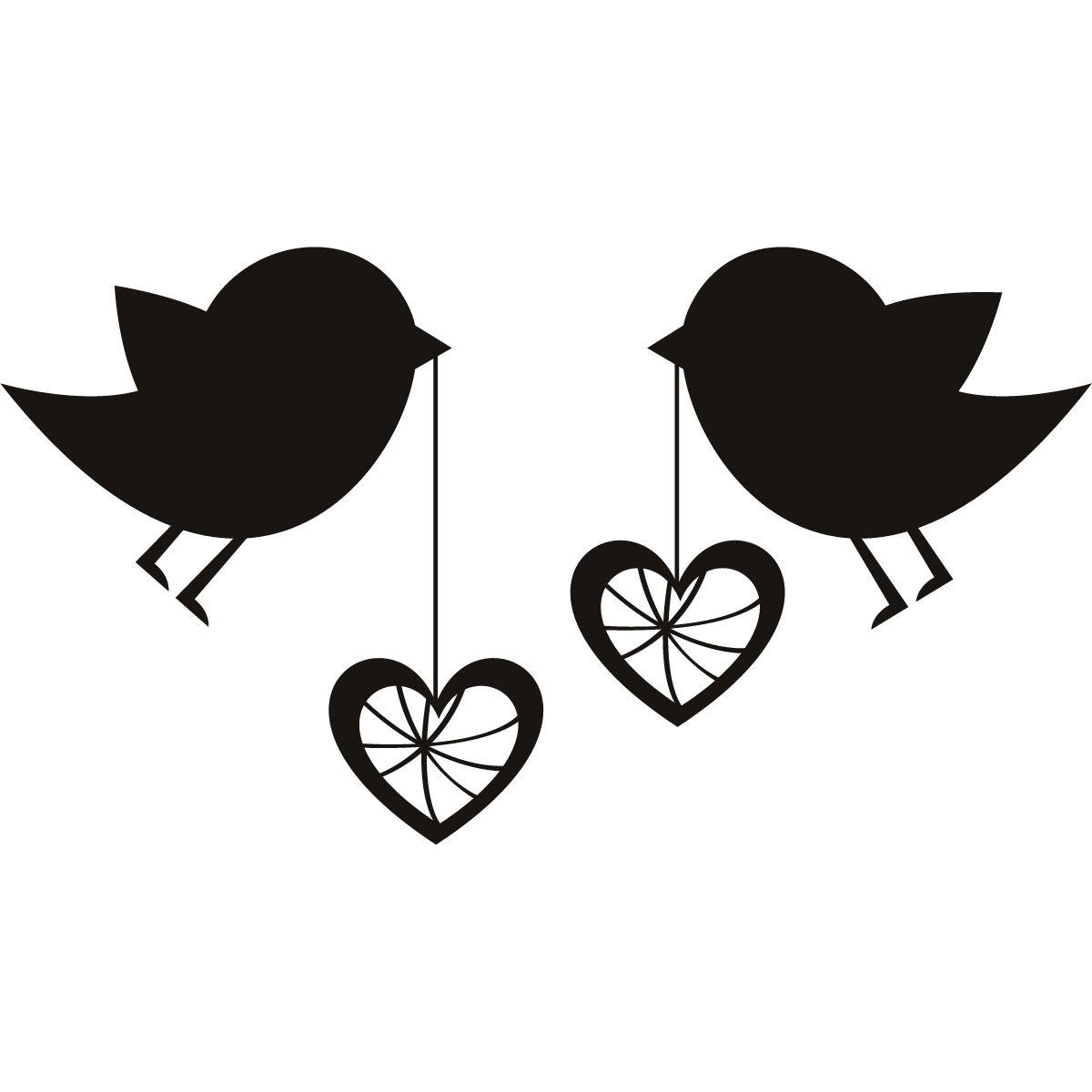 Black Love Art Clip Art Wall Stickers Love