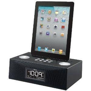 Click Image Twice For Updated Pricing And Info Ihome Id83bzc App Enhanced 30 Pin Ipod Iphone Ipad Alarm Clock Speaker Doc Ihome Alarm Clock Radio Alarm Clock