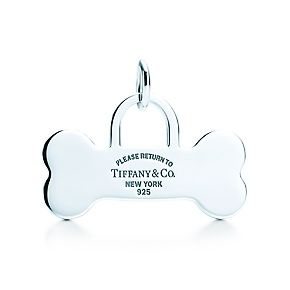 fb4380f20 Return to Tiffany®:Bone Tag Charm in 2019 | TIFFANY blue | Tiffany ...