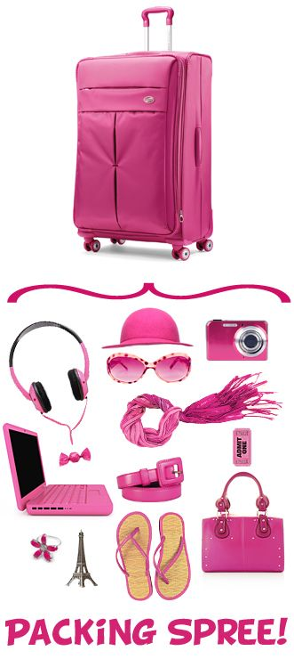 Pack 1000 Bucks Worth Of Fun In An American Tourister Bag On Pinterest You Could Win The Bag And A One Grand Shoppi American Tourister Shopping Spree American