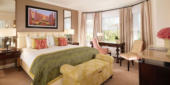 Hotel Suites Los Angeles Five Star In Beverly Hills