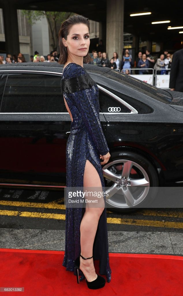 Charlotte Riley Arrives In An Audi At The BAFTA TV On Sunday - Anaudi