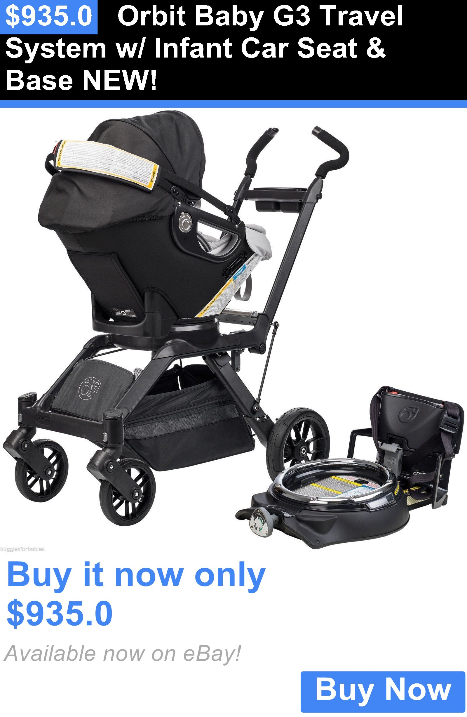 Baby Kid Stuff Orbit G3 Travel System W Infant Car Seat And Base New BUY IT NOW ONLY 9350