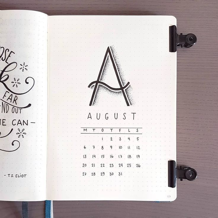 minimal bullet journal august monthly cover  Bullet journal layout ideas #buju #bulletjournal #bulletjournalideas
