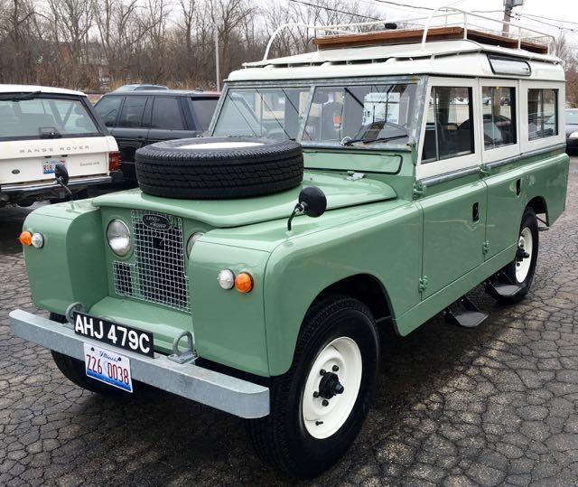 1965 Land Rover 109 Land Rover Land Rover Defender Land Rover Series