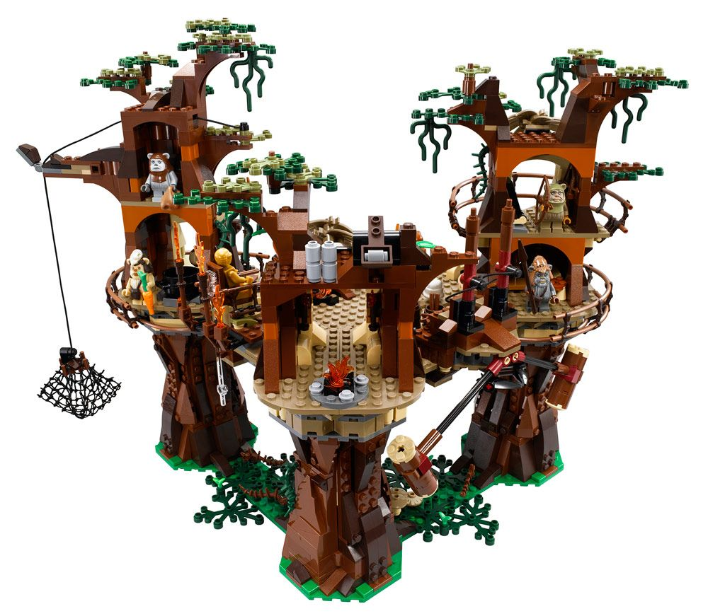 LEGO Star Wars Ewok Village | LEGO | Pinterest | Lego star wars ...