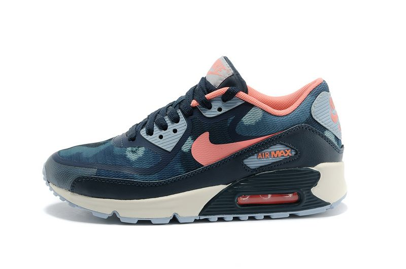 NIKE AIR MAX 90 PREMIUM TAPE BLUE PINK GRAY  4a8965af1