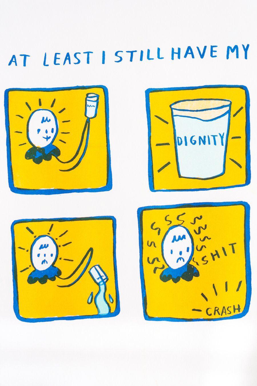 Dignity Riso Print 11 X 17 Risograph Print Riso Print Risograph