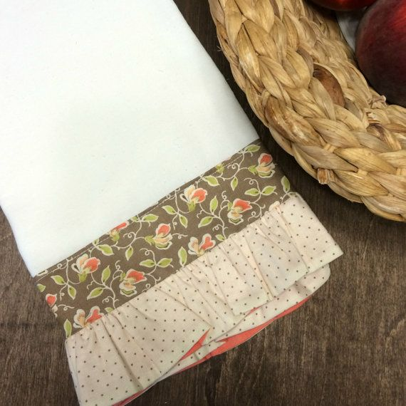 So excited to present some new ruffled tea towels to White Washed Comfort. These towels are soft and feminine but dont underestimate them -
