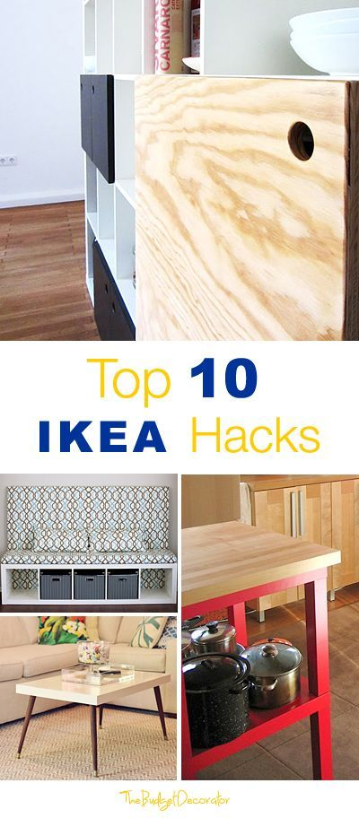 top 10 ikea hacks diy ideas pinterest m bel diy m bel und ideen. Black Bedroom Furniture Sets. Home Design Ideas
