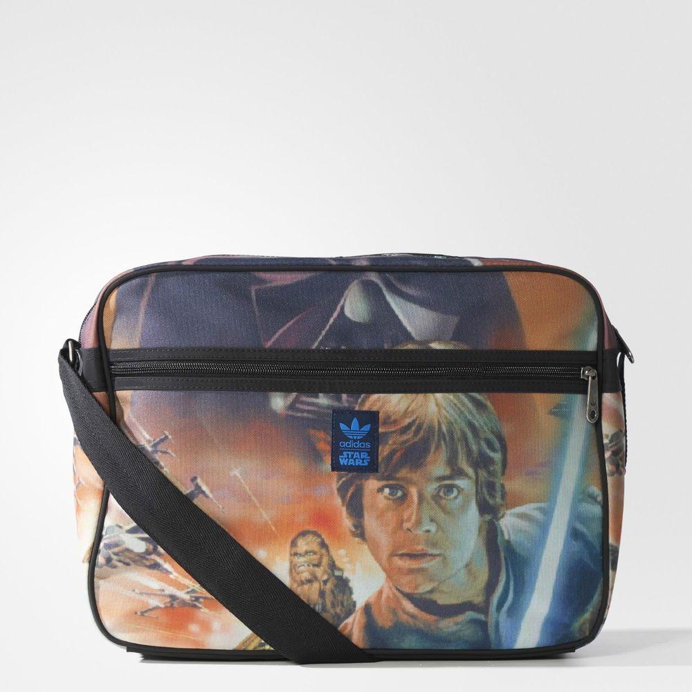 Adidas Originals Star Wars Vintage Airliner Bag Retro Messenger Backpack Adidas Messengershoulderbag Adidas Star Wars Star Wars Bag Bags
