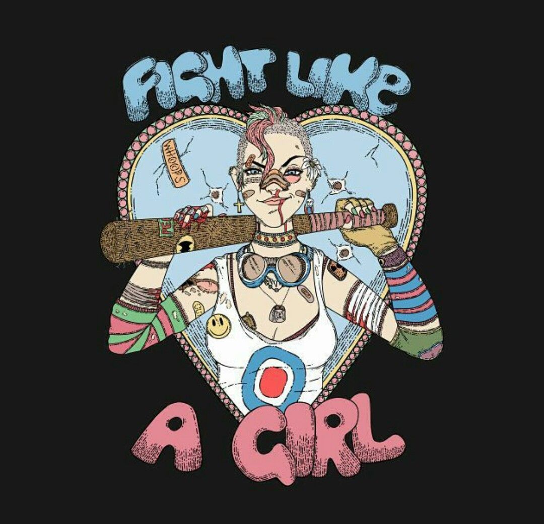 Fight Like A Girl Tankgirl Tank Girl Booga Tank Girl Tank Girl