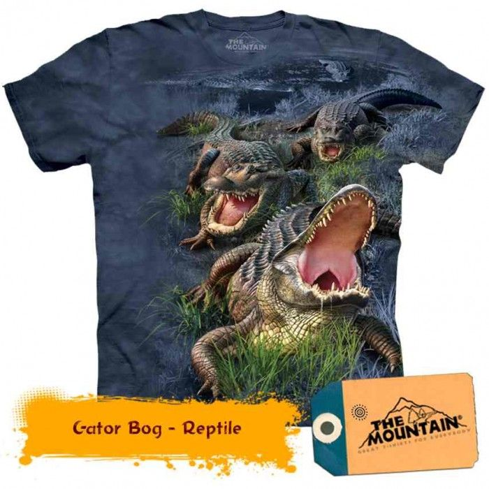 Tricouri The Mountain – Tricou Gator Bog