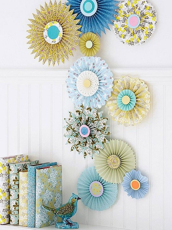 Paper Wall Art paper wall art crafts - decoist | wall art crafts, paper wall art