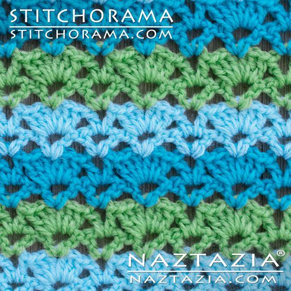 Crochet Shell 004 - Stitchorama by Naztazia | Crochet STITCHES ...