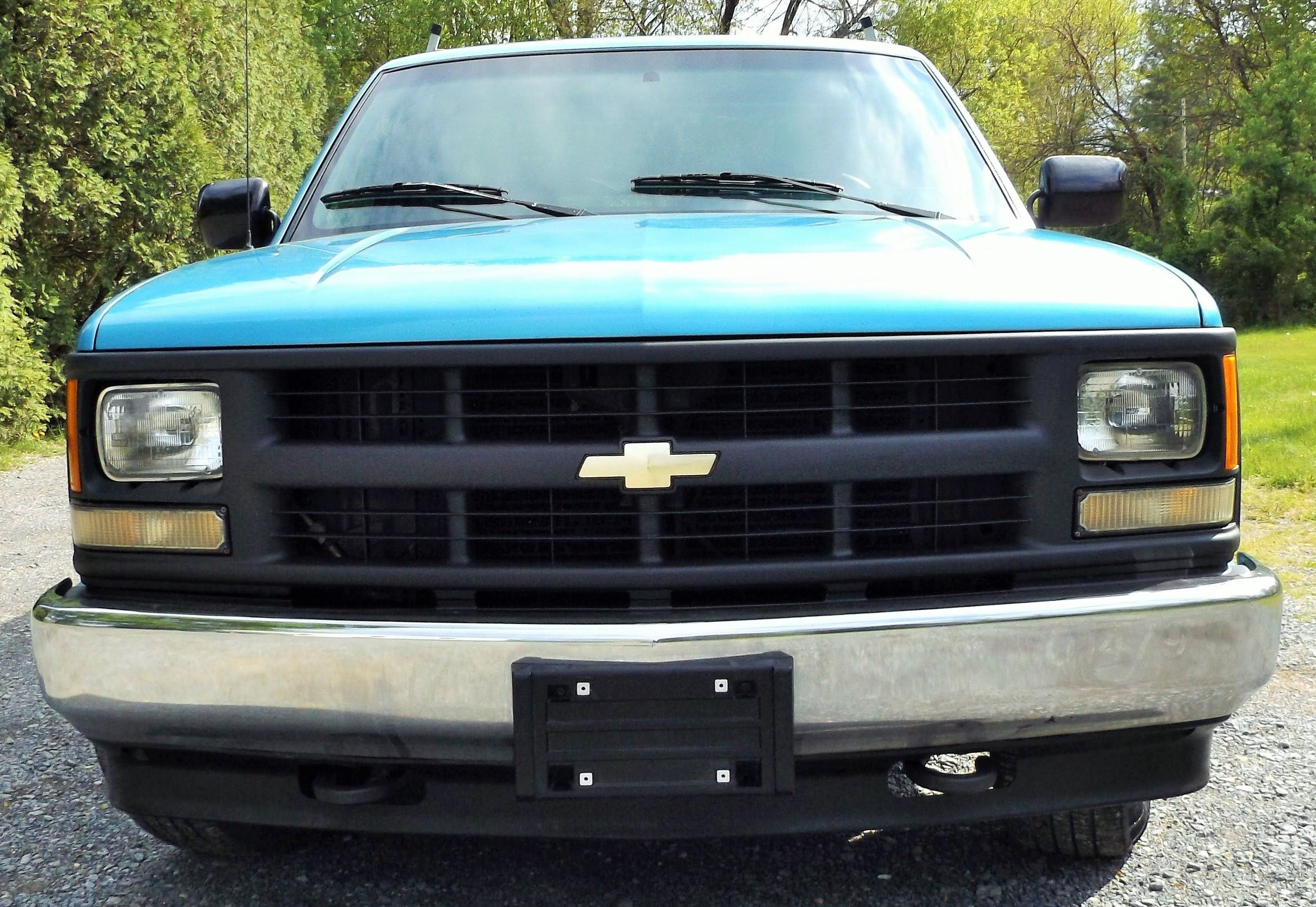 Before And After Painting Truck Grill 1994 Chevy Cheyenne How To