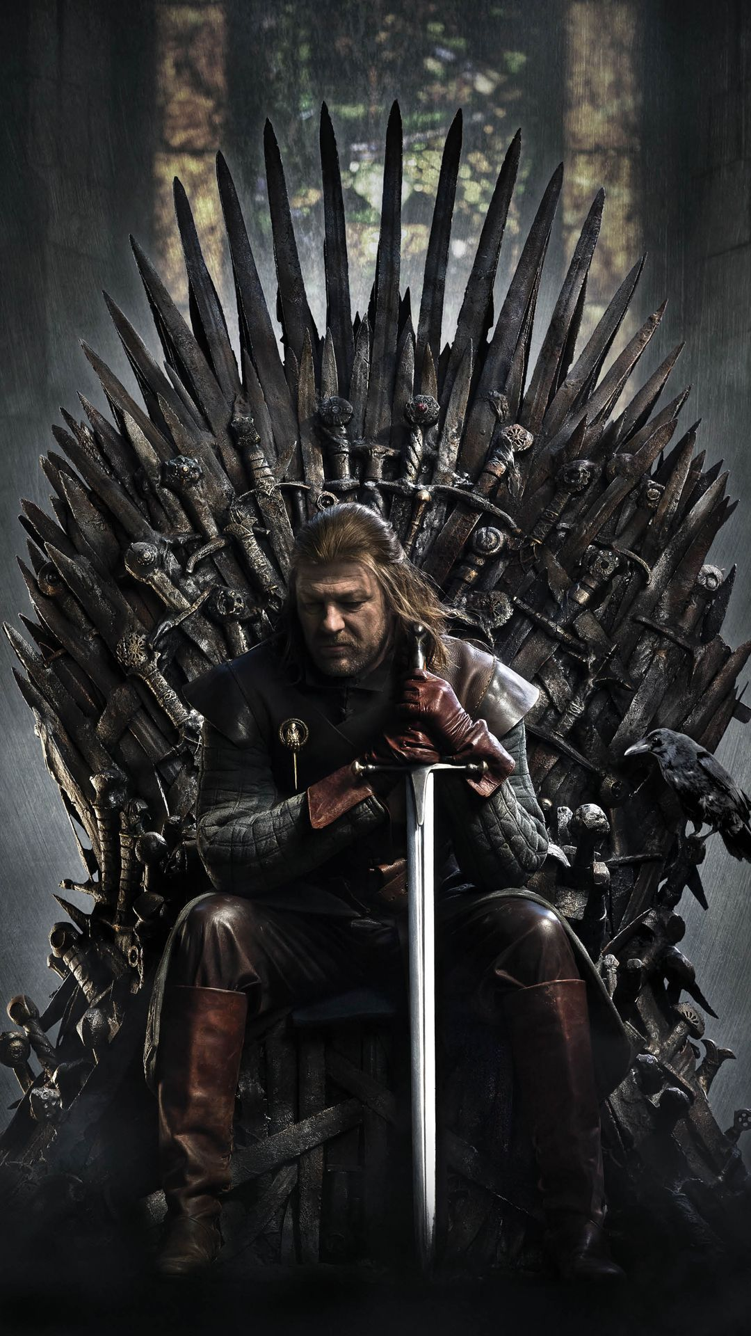 Game Of Thrones Ned Stark Iron Throne Android Wallpaper Wallpapers