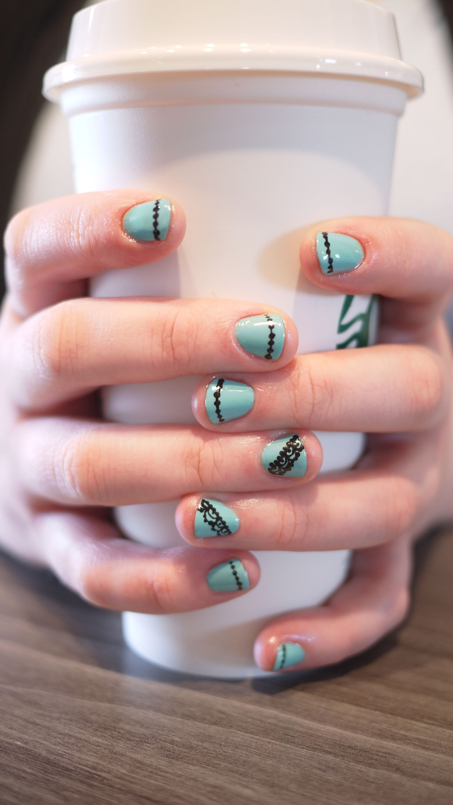 Ooo La La! Mint and Lace...All dolled up for the office with a ...