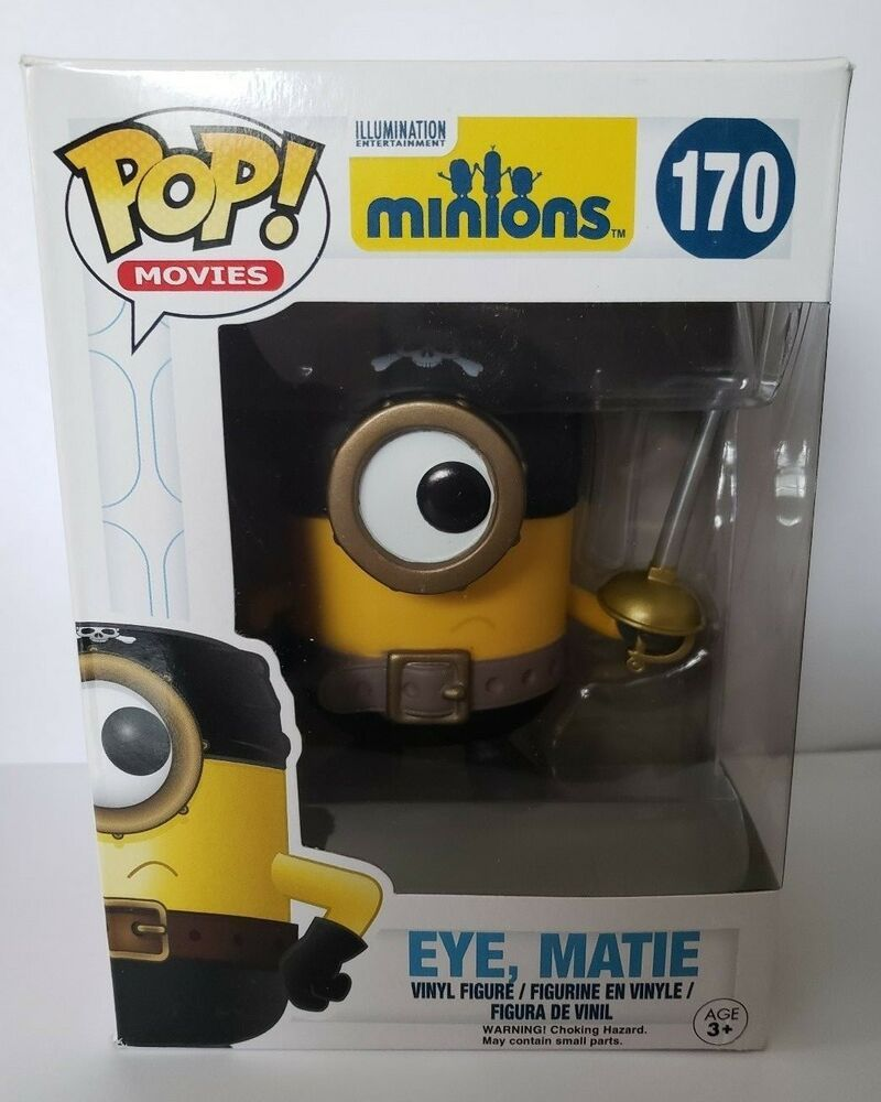 Funko POP Movies  Eye Matie Minions Figure