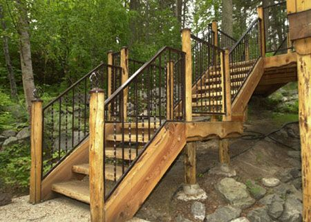 Outdoor Steps Designs Below Is A Circular Metal Stairway On The Exterior Of Building And