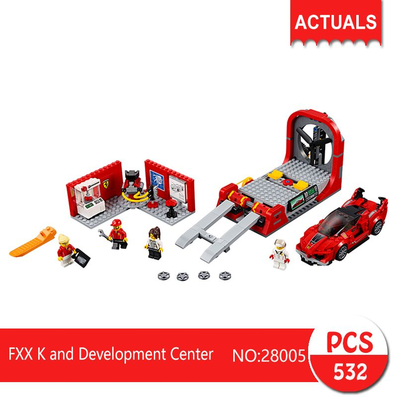 Speed Champions FXX K City Development Center Building Blocks Sets Bricks 532pcs
