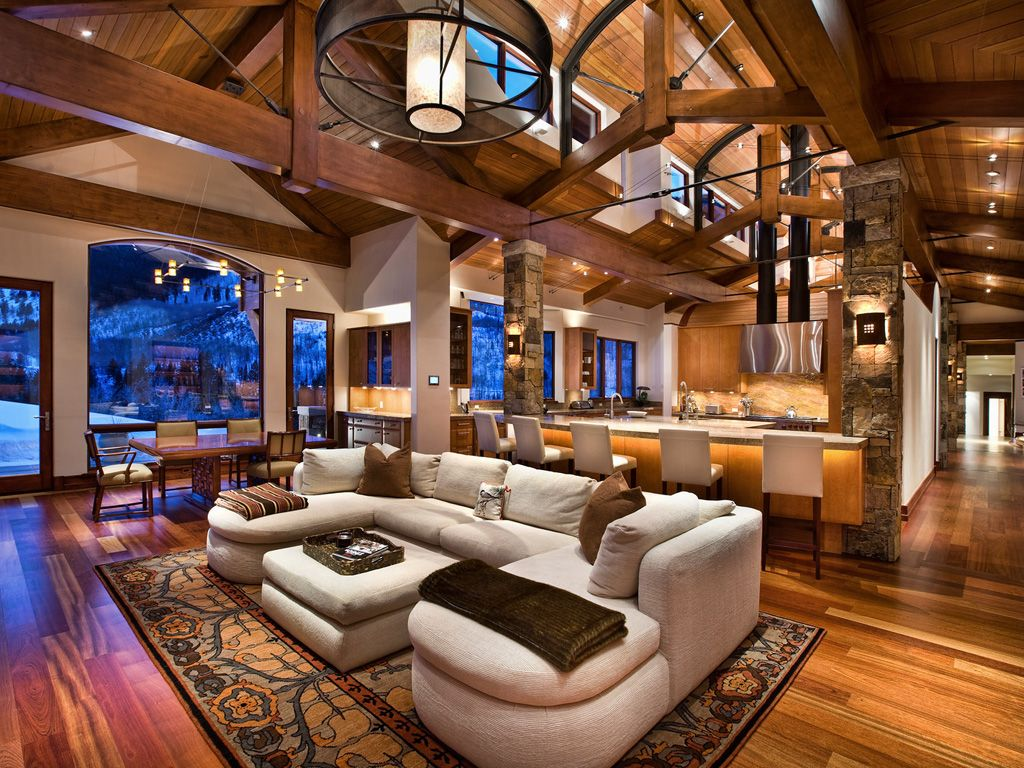 Catch cabin fever in these million dollar homes - Interiors by design family dollar ...