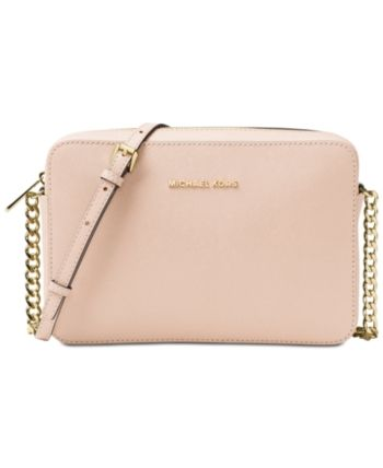 ba3832740be7 handbags michael kors at macys. Michael Michael Kors Jet Set East West  Crossgrain Leather Crossbody - Pink
