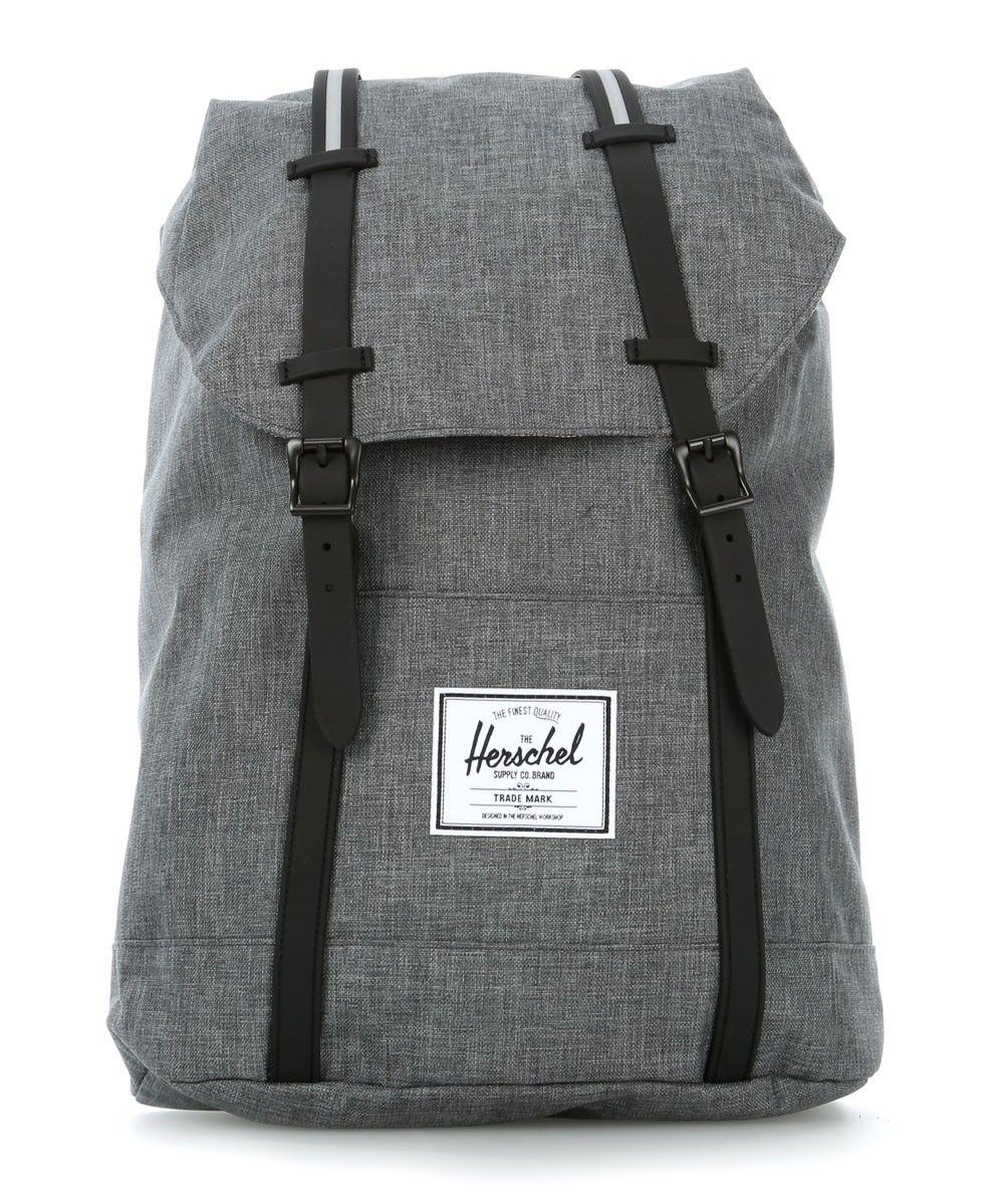 Herschel Classic Retreat 15'' Laptop Rucksack grau 45 cm