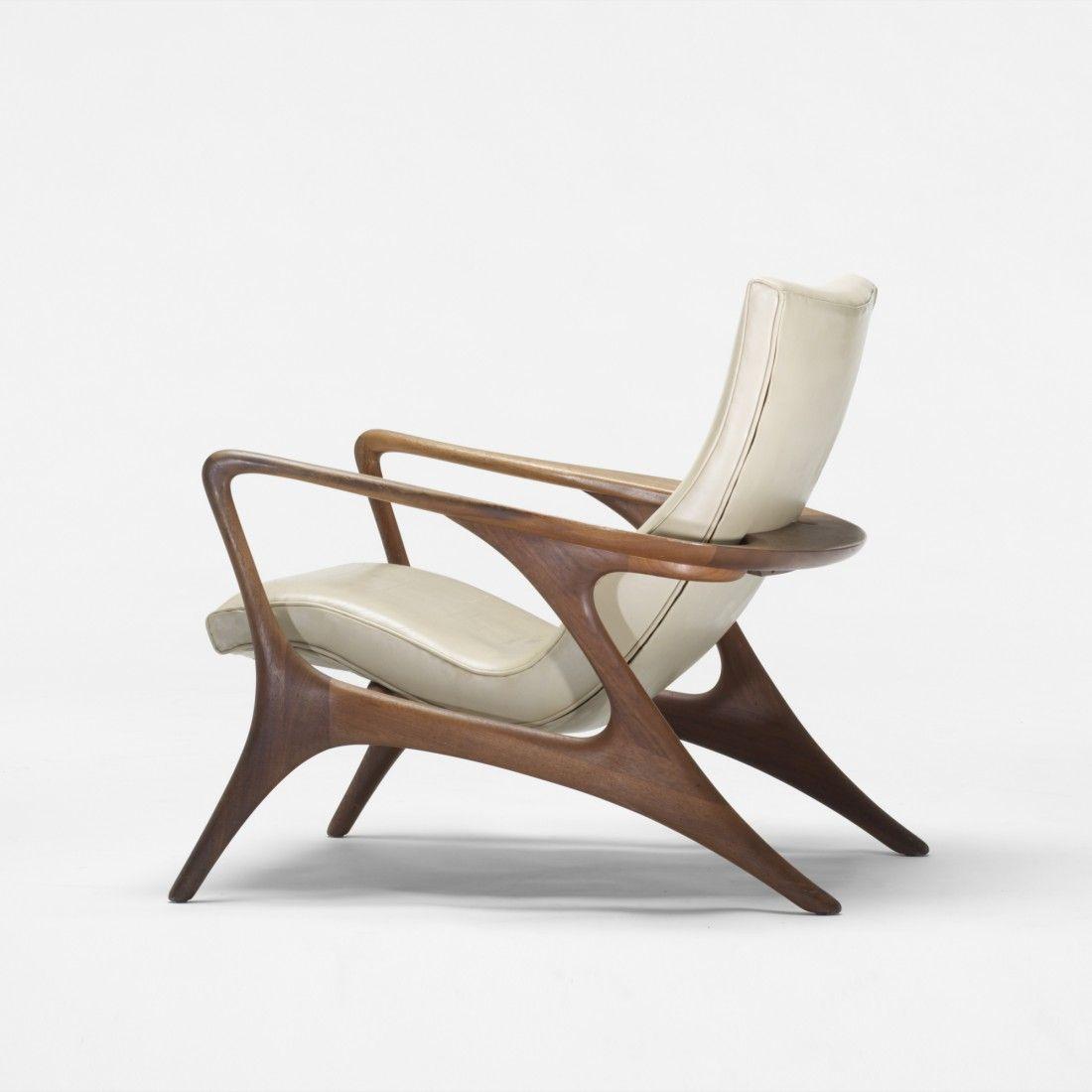 Vladimir kagan contour lounge chair