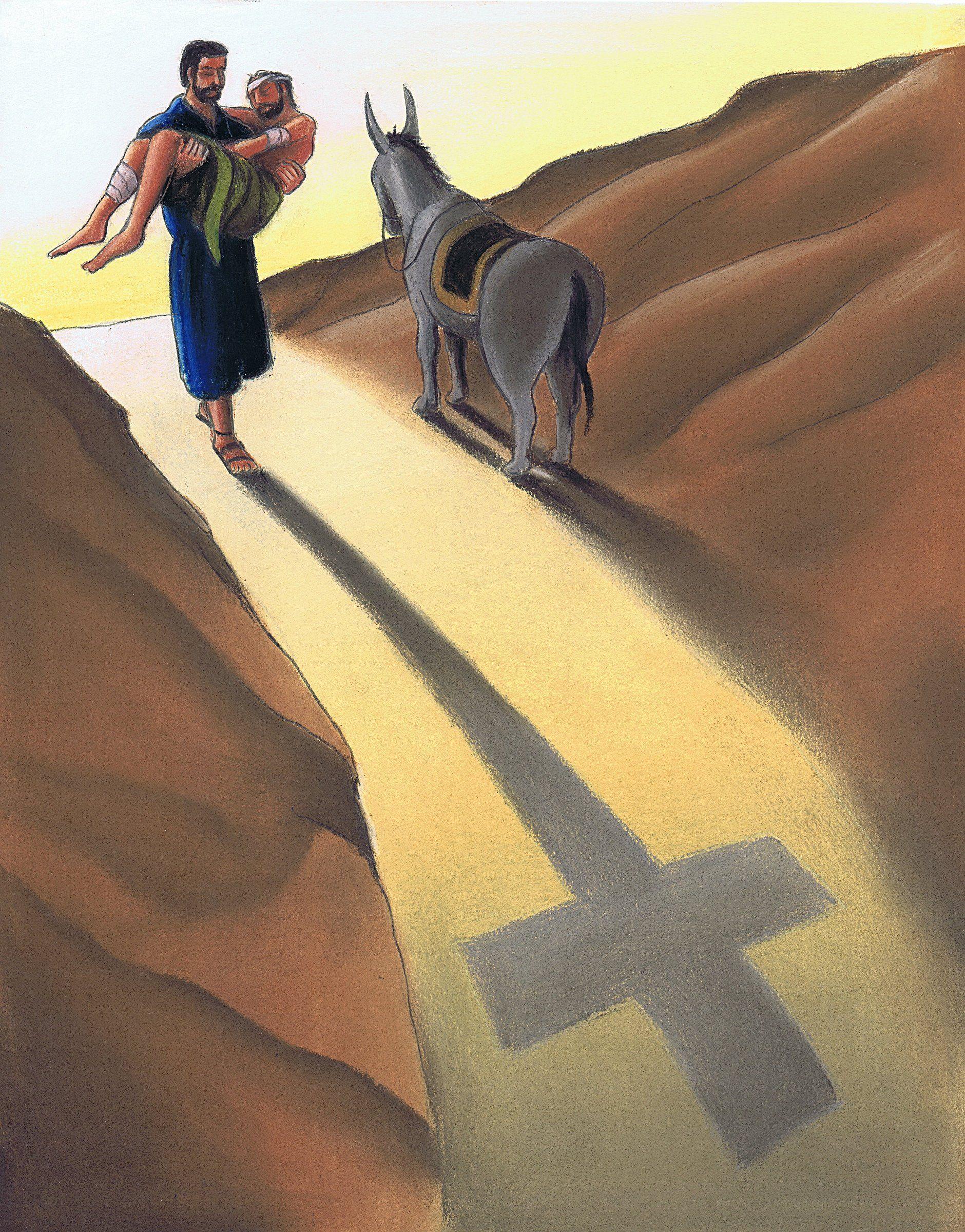 "Image result for The good Samaritan:"""