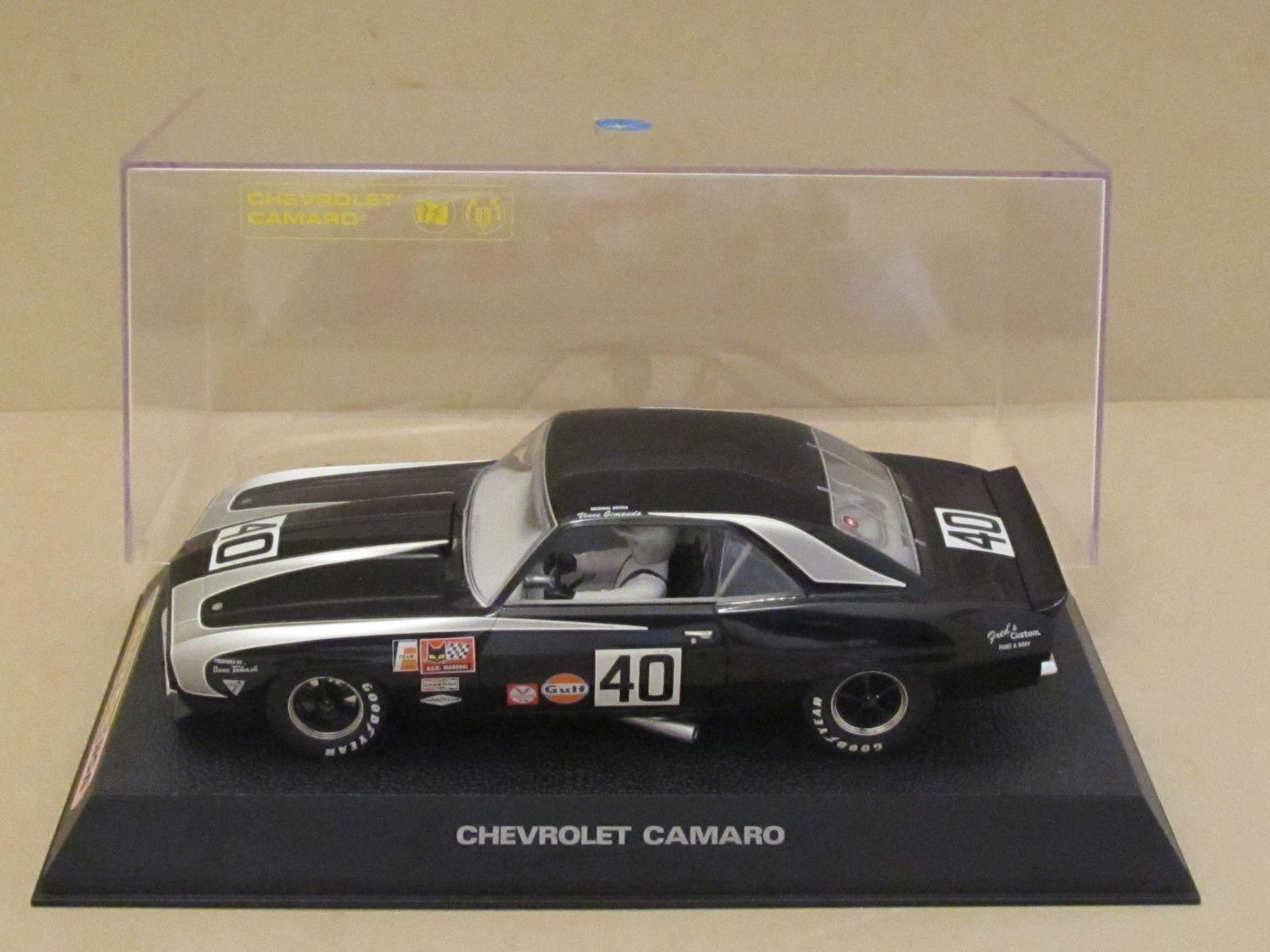 Vintage SCALEXTRIC C2654 1969 Chevrolet Camaro VINCE GIMONDO