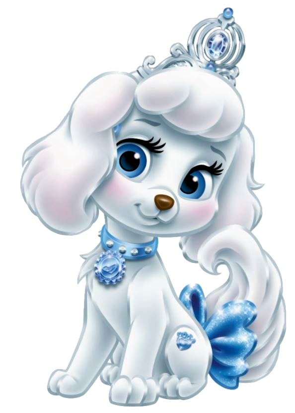 Pumpkin Is A White Poodle Dog Owned By Cinderella She Has Big