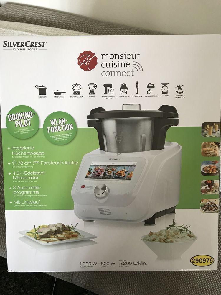 Neu Ovp Lidl Thermomix Silvercrest Monsieur Cuisine Kuchenmaschine M