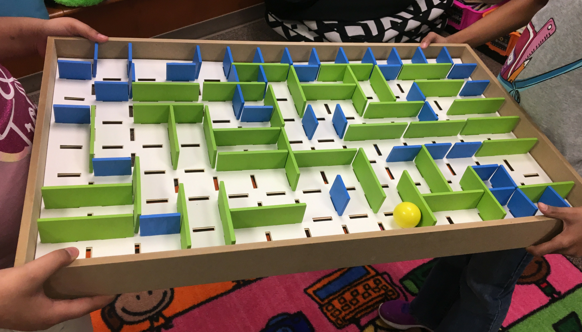 Help students learn to problem solve and communicate with this STEM Maze Activity.