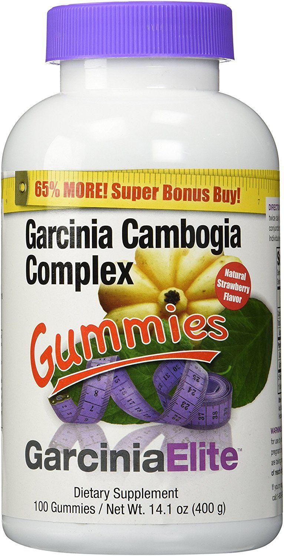 Garcinia Cambogia Complex Gummies 100 Ct Garciniaelite
