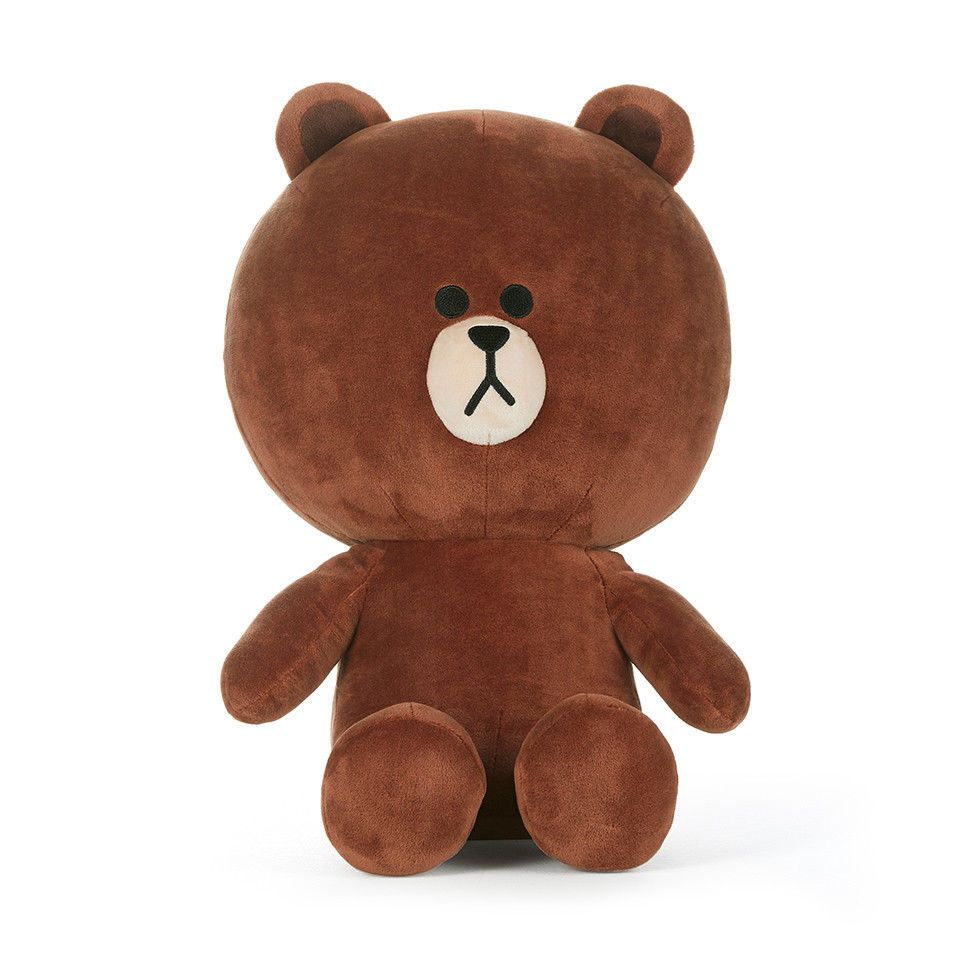 LINE FRIENDS Character Plush Doll Toy SITTING SALLY Large Season 5