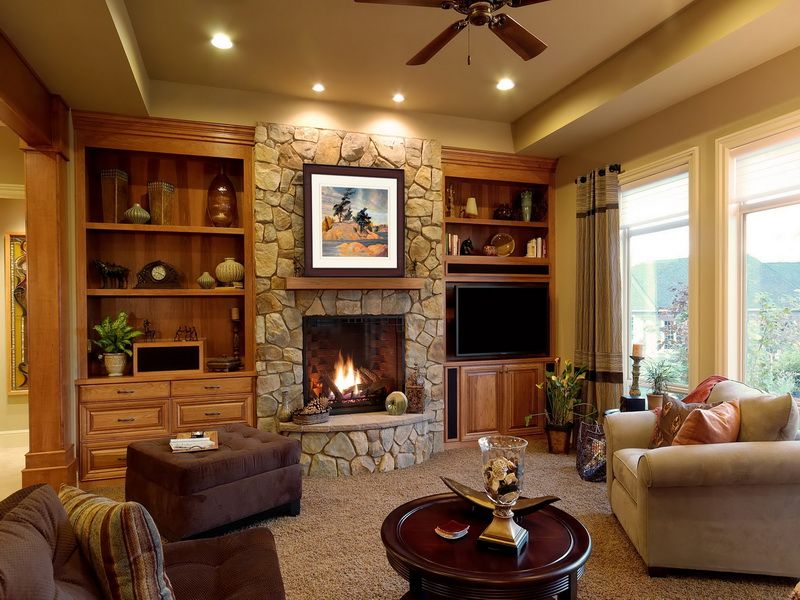 living rooms with fireplaces