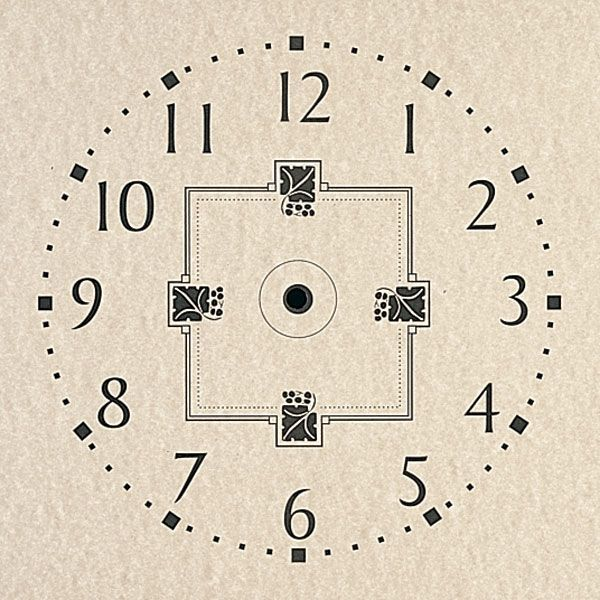 Clock Paper Dials Dial Paper Mission Style 11 Quot X 11