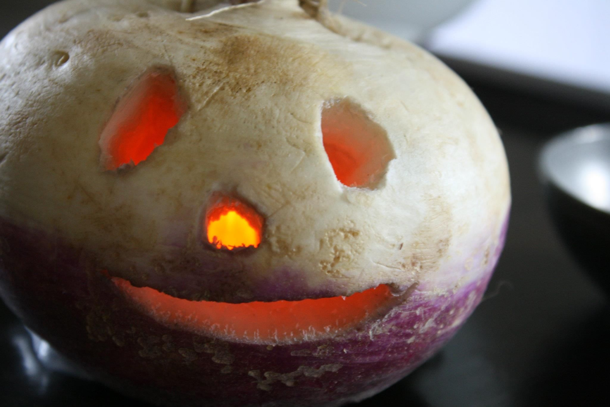 I would like to try craving a turnip this year, it was the original ...