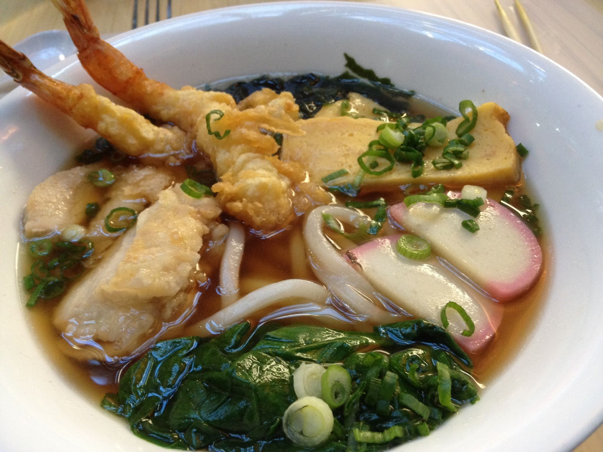 Nageyaki Udon at Shogu in Minneapolis airport. Great sushi as well.