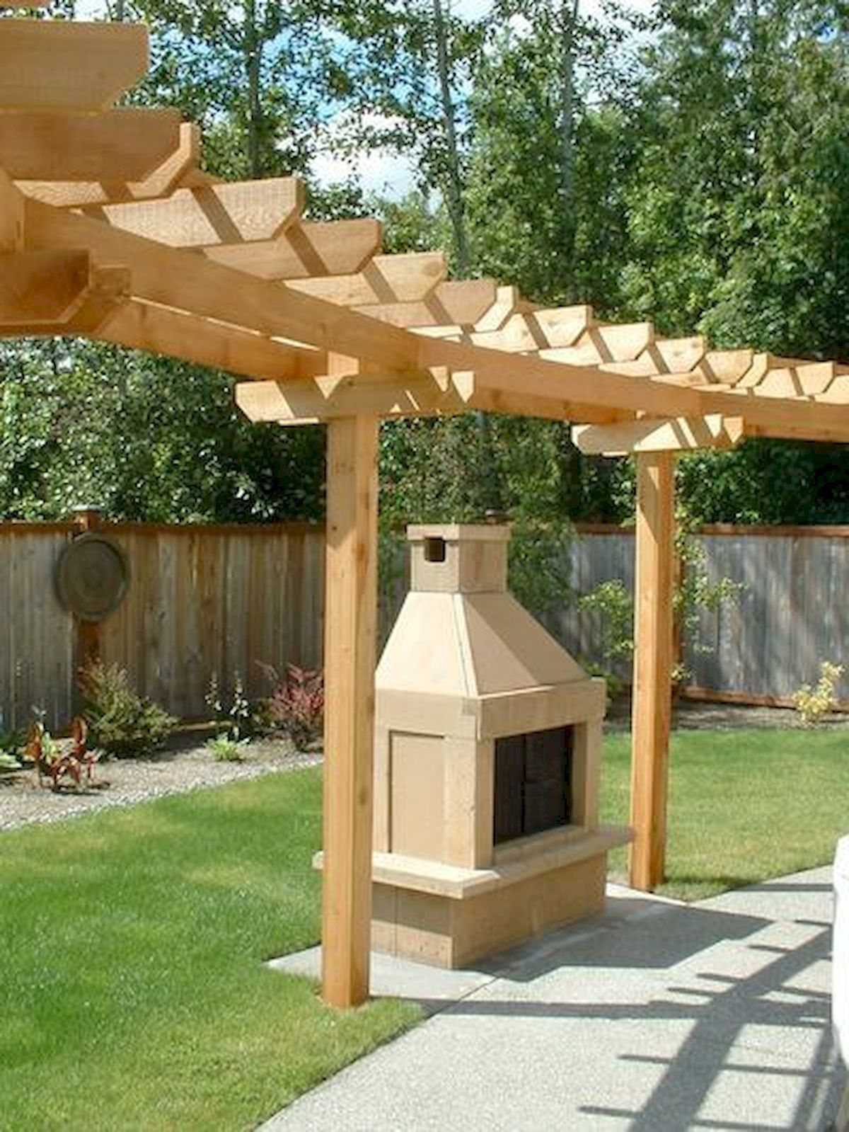 80 Beautiful Side Yard And Backyard Japanese Garden Design ... on Side Yard Pergola Ideas id=87927