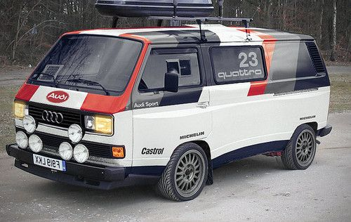 VW T3 quattro rally tribute