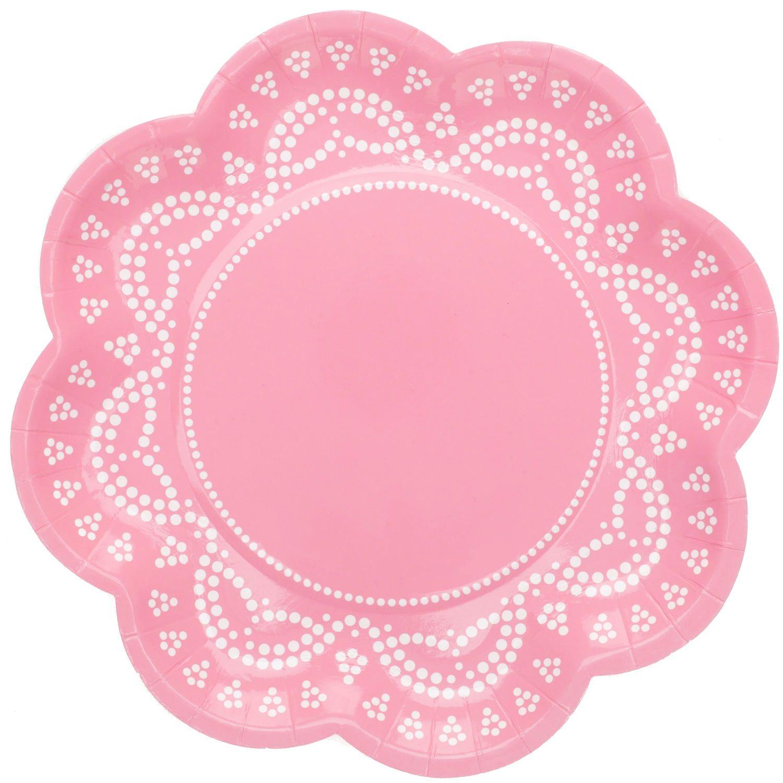 Plates | Lovely Lace Pastel Pink Paper Plates | Party Plates | Premium Quality Paper Plates  sc 1 st  Pinterest & Plates | Lovely Lace Pastel Pink Paper Plates | Party Plates ...