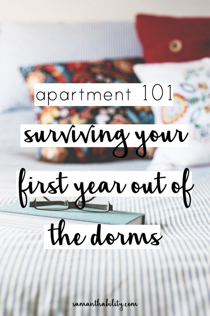 Apartment 101 Surviving Your First Year Out Of The College Dorms Paypalit Cg